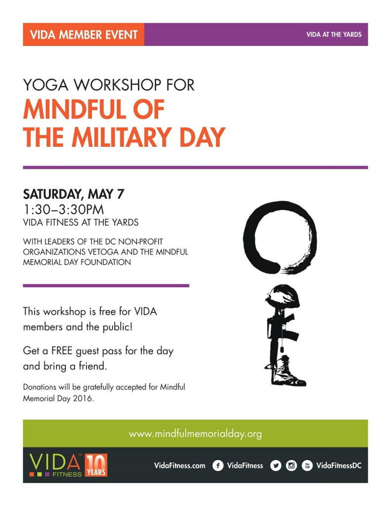 Mindful of the Military Day - May 7, 2016
