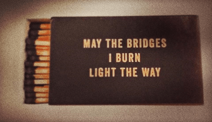 Episode II: Dear 2017 I'm Flipping the Bridge & Lighting the Match