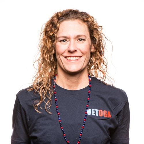 Amy Layne - VETOGA Instructor